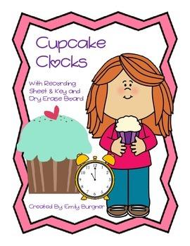 Cupcake Clocks Center