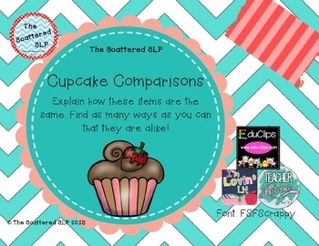 Cupcake Comparisons - How Are They Related