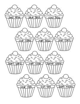 Cupcake Compound Words