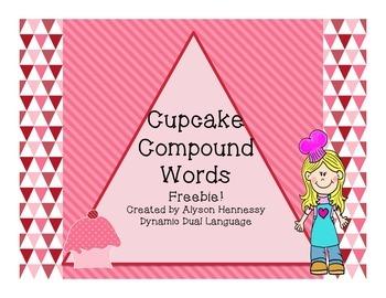 Cupcake Compound Words! FREEBIE