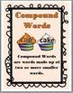 Compound Words Activity - Cupcake Theme