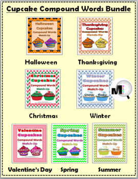 Compound Words Bundle for the Entire Year