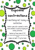 Cupcake Contractions Literacy Pack