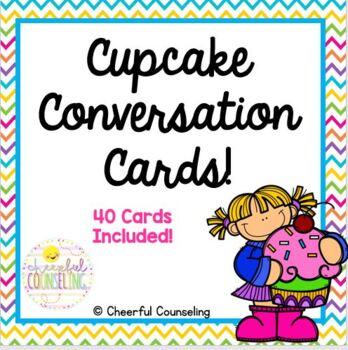 Cupcake Conversation Cards