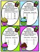 Cupcake Conversions:  Supports 4th Grade Texas TEKS 4.8B