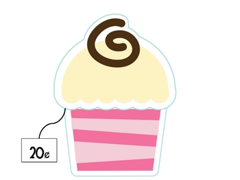 Cupcake Counting Math Center