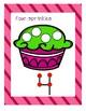Cupcake Counting Playdough Mats 0-10