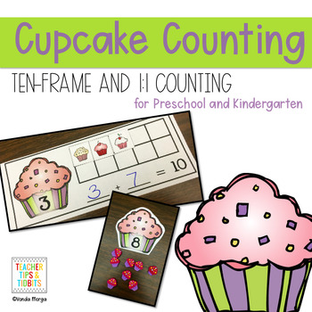 Cupcake Counting and Ten-frame Practice