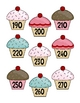 Cupcake Counting by 10s Cards 10-300 Kindergarten, First, Second Grade