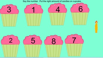 Cupcake Counting to 10