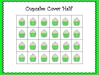 Cupcake Cover Half