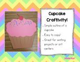Cupcake Craftivity