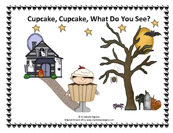 Halloween - Cupcake, Cupcake, What Do You See (ebook/flashcards/flannel board)