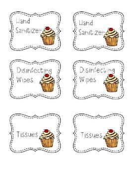 Cupcake Donations-Editable (Farmhouse)