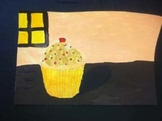 Cupcake Drawing and Painting Lesson Plan, Learning from Wayne Thiebaud