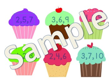 Cupcake Fact Family