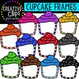 Cupcake Frames {Creative Clips Clipart}