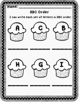 Free ABC Order