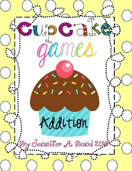 Cupcake Games Addition Bundle