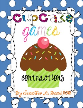 Cupcake Games - Contractions