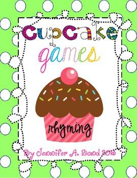 Cupcake Games Rhyming