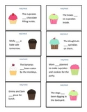 Cupcake Grammar: HAS/HAVE