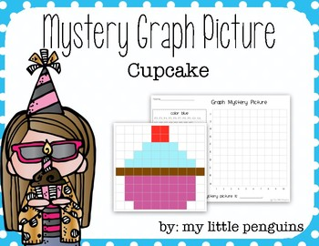 Cupcake Graphing Mystery Picture