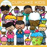 Kids Cupcake Clip Art