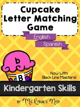 Cupcake Letter Matching Game