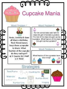 Cupcake Mania Maths Questions