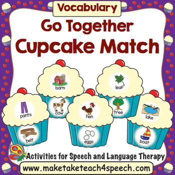 Cupcake Match- Go Together