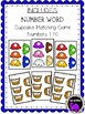 Cupcake Matching Game: Number Words 1-20