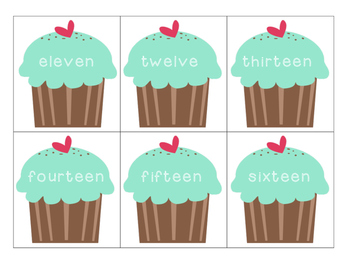 Cupcake Math 10-20