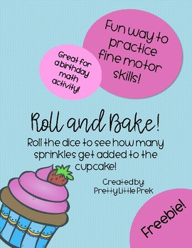 Cupcake Math Game FREEBIE
