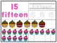 Cupcake Math Mats