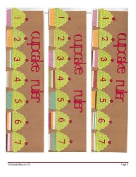 Cupcake Measurement Math Center