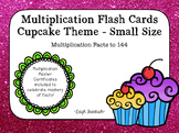 Cupcake Multiplication Flash Cards (small) and Award Certificates