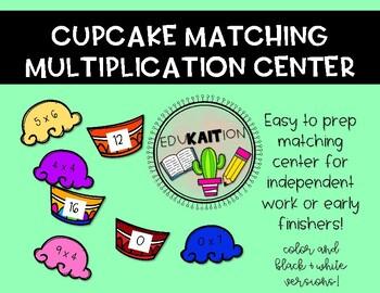 Cupcake Multiplication Matching Center