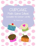 Cupcake Number Cards and Game Ideas