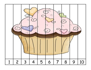 Cupcake Number Puzzle