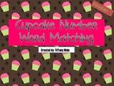 Cupcake Number Word Match