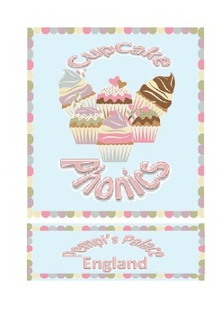 Cupcake Phonics Onset and Rime/Word Families Phases 2 3 &
