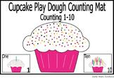 Cupcake Play dough Mats - Counting Activity