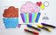 Cupcake Printable Craft Template
