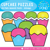 Cupcake Puzzles Clipart