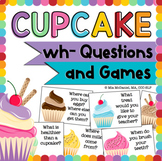 WH- Question Cupcake Games