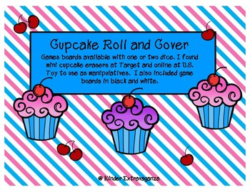 Cupcake Roll/Add and Cover