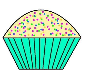 Cupcake Rubric Visual For Kids