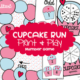 Odd and Even Numbers Game {Cupcake Run}