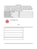 Cupcake Shop Pictograph Worksheet 2.MD.10